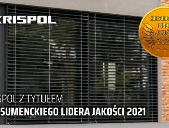 KRISPOL z tytułem Konsumenckiego Lidera Jakości 2021